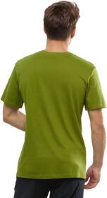 Salomon Coton Logo Kurzarm T Shirt Herren avocado